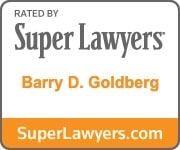 Barry D. Goldberg Super Lawyers Badge