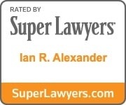 Ian R. Alexander Super Lawyers Badge